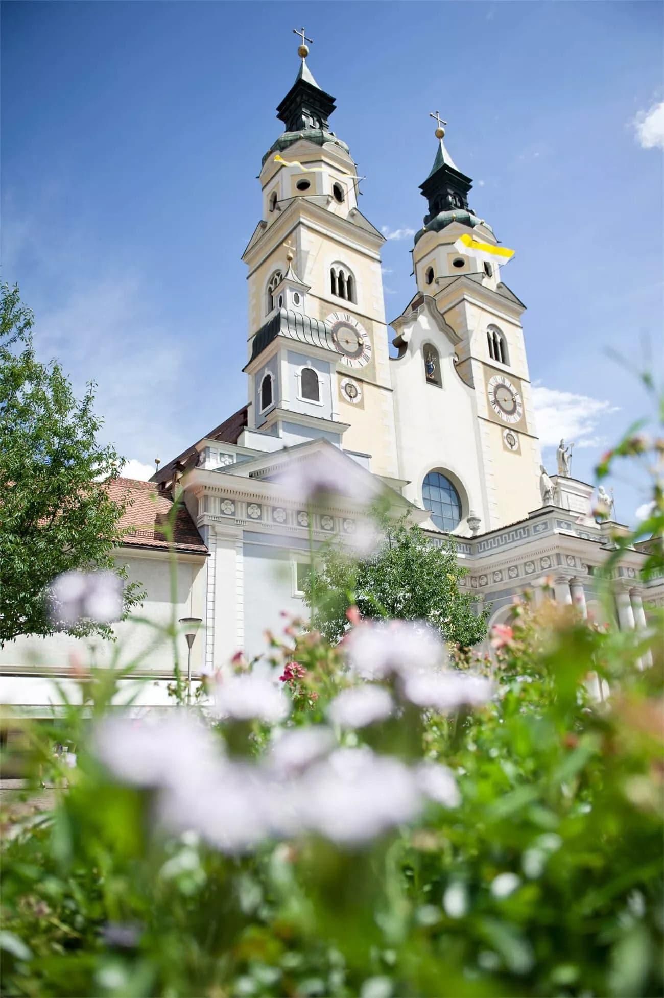 Stadt Brixen mit Dom, Kreuzgang und Hofburg