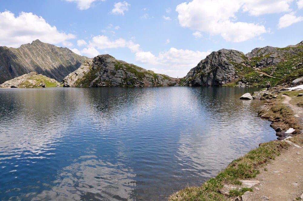 I laghi Seefeld sopra a Maranza