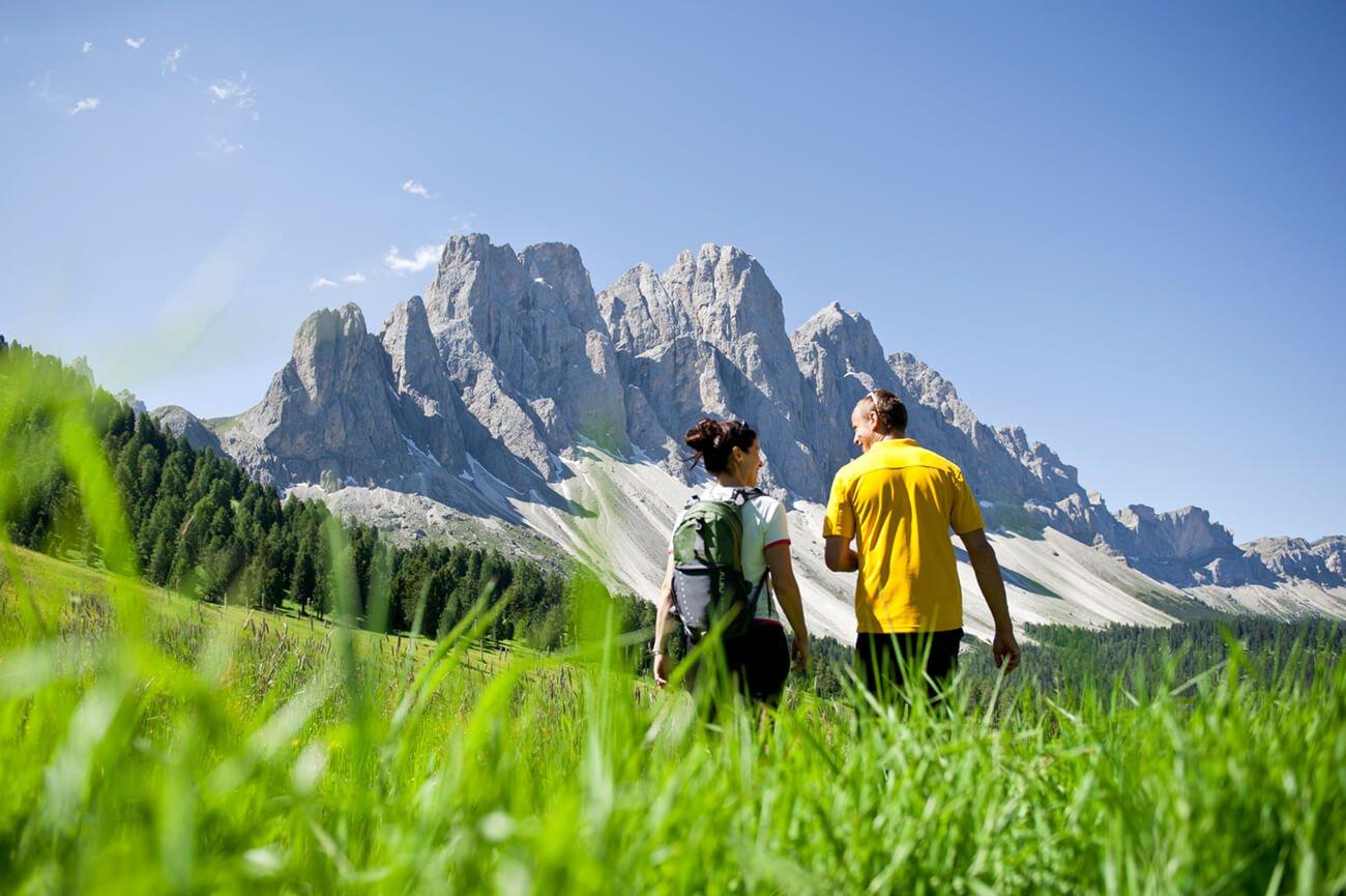 Sentiero Adolf Munkel e l'Alpe di Funes